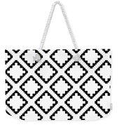 Geometricsquaresdiamondpattern Weekender Tote Bag