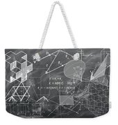 Geometry Weekender Tote Bag