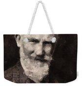 George Bernard Shaw Author Weekender Tote Bag