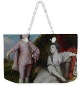 George Capel, Viscount Malden, And Lady Elizabeth Capel Weekender Tote Bag
