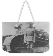 George S. Patton During World War One  Weekender Tote Bag