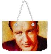George Sanders, Vintage Hollywood Actor Weekender Tote Bag