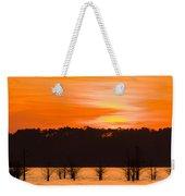 George T. Bagby State Park Sunset Weekender Tote Bag
