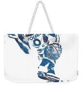 George Teague Minnesota Timberwolves Pixel Art 1 Weekender Tote Bag