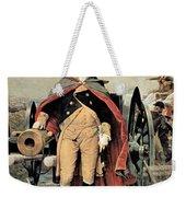 George Washington At Dorchester Heights Weekender Tote Bag by Emanuel Gottlieb Leutze