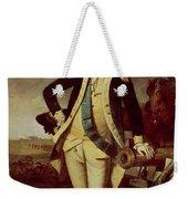 George Washington At Princeton Weekender Tote Bag