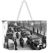 George Washington Bridge Open Weekender Tote Bag