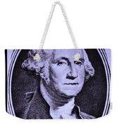 George Washington In Light Purple Weekender Tote Bag