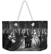 George Washington's Reception At White House - 1776  Weekender Tote Bag