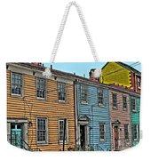 Georgetown Row Weekender Tote Bag