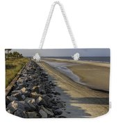 Georgia Atlantic Sea Barrier Weekender Tote Bag