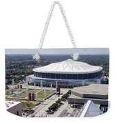 Georgia Dome In Atlanta Weekender Tote Bag
