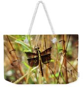 Georgia On My Mind Ray Charles Dragonfly Art Weekender Tote Bag