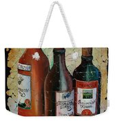 Georgian Wine Fresco Weekender Tote Bag