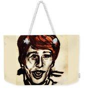 Georgie Fame Portrait Weekender Tote Bag