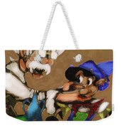 Geppetto And Pinochio Weekender Tote Bag