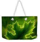 Geranium Leaf Weekender Tote Bag