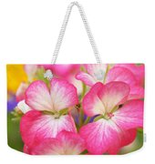 Geraniums On A Brilliant Summer Day Weekender Tote Bag