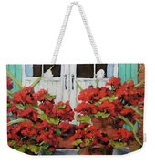 Geraniums On The Porch Weekender Tote Bag