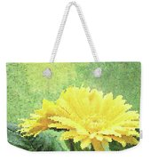 Gerber Daisy And Reflection Weekender Tote Bag