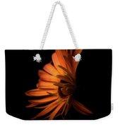 Gerbera Set On Black Weekender Tote Bag