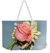 Gerbers With The Rose Weekender Tote Bag