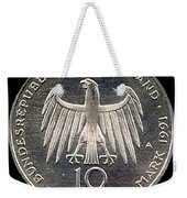 German Mark Weekender Tote Bag