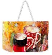 German Mugs And Christie Weekender Tote Bag