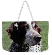German Shorthaired Pointer  Weekender Tote Bag