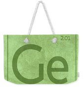 Germanium Element Symbol Periodic Table Series 032 Weekender Tote Bag
