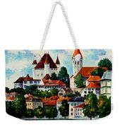 Germany - Clouds Above The Rhine Weekender Tote Bag