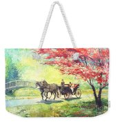 Germany Baden-baden Lichtentaler Allee Spring 2 Weekender Tote Bag