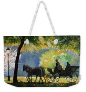 Germany Baden-baden Lichtentaler Allee Spring  Weekender Tote Bag