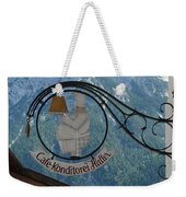 Germany - Cafe Sign Weekender Tote Bag
