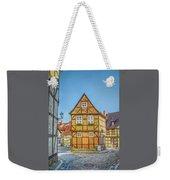 Germany - Half-timbered Houses And Alleys In Quedlinburg Weekender Tote Bag