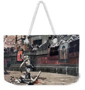 Gerome: Gladiators, 1874 Weekender Tote Bag by Granger