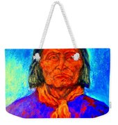 Geromino - Chiricahua Apache Leader Weekender Tote Bag