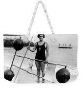 Gertrude Ederle (1906-2003) Weekender Tote Bag