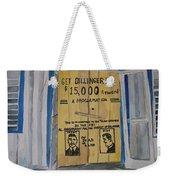 Get Dillinger Weekender Tote Bag
