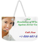 Get Expert Guidance For Windows System Error Codes Weekender Tote Bag
