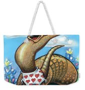 Get Out Of Your Shell...stop And Smell The Bluebonnets Weekender Tote Bag