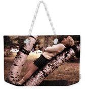 Get Perspective Weekender Tote Bag