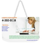 Get Solution For Gmail Support Service Number 1-844-202-0908 Weekender Tote Bag
