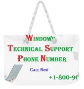 Get Technical Support For Windows Weekender Tote Bag