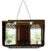 Get Your Home Beautiful By Upvc Windows Weekender Tote Bag