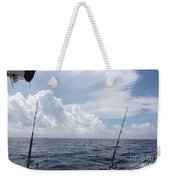Getting Ready To Fish Weekender Tote Bag