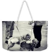 Getting To Know You - Puppies On Parade Weekender Tote Bag