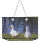 Getting Your Ducks In A Row Weekender Tote Bag