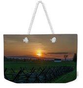 Gettysburg At Sunset Weekender Tote Bag
