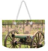 Gettysburg Cannon Cemetery Hill Weekender Tote Bag